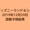 2019年12月29日混雑予想結果。想像をはるかに超えるW入園制限